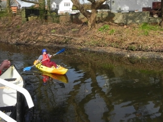 Canoe launch