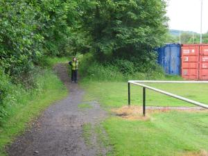 Walking the route of proposed canal