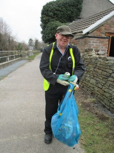 Work Party LItter picking