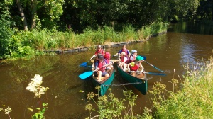 School group canoes (5)
