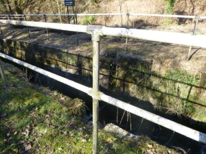 railings before