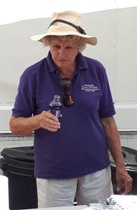 Gill on her third bottle of......coke.