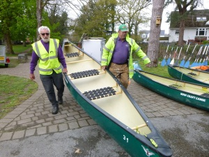 gordon, john and canoe